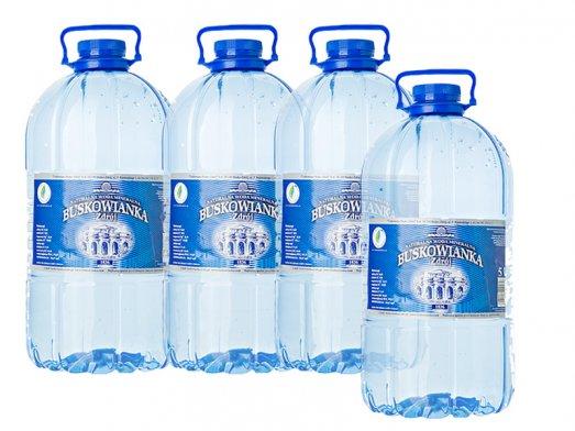 Woda Mineralna Buskowianka Zdrój 5L