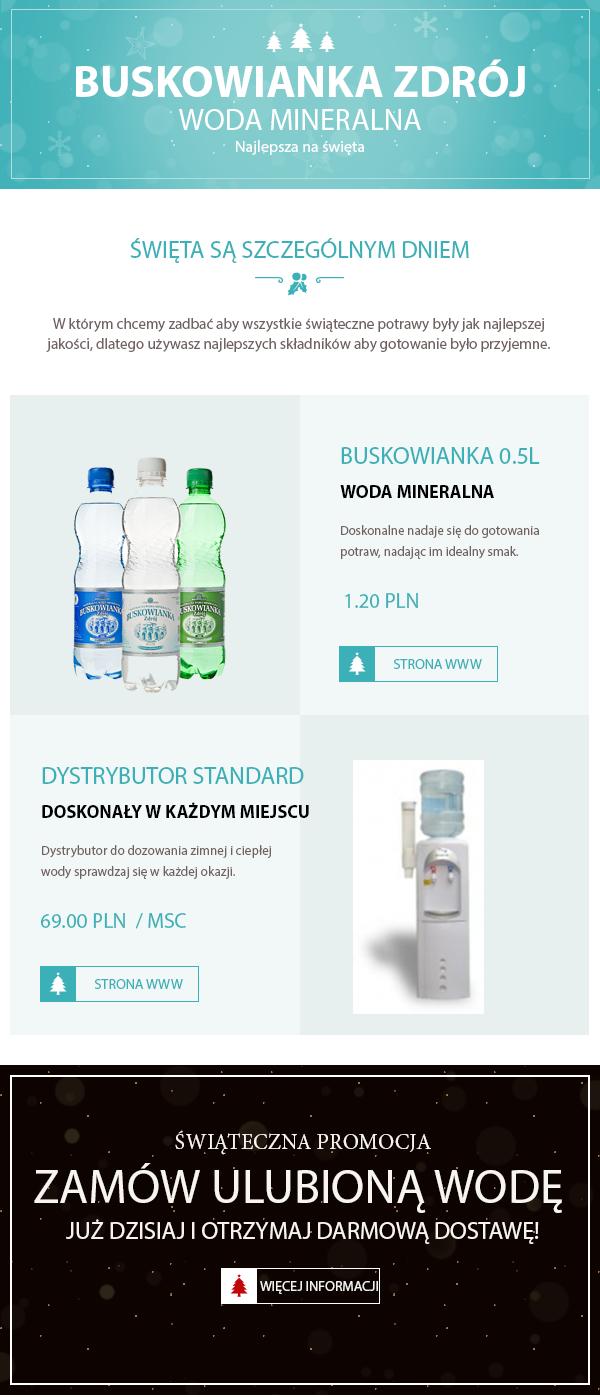 Woda dla firm Kielce